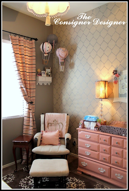 DIY nursery makeover