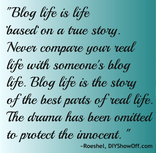 life of a blogger quote