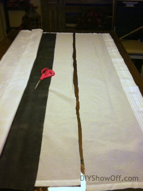 creating rod pocket
