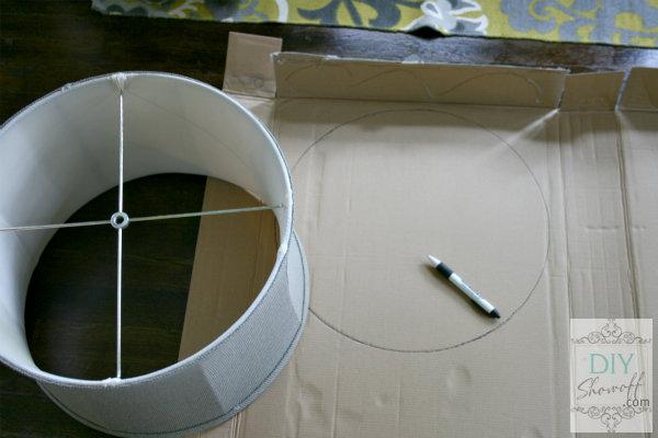 cardboard template