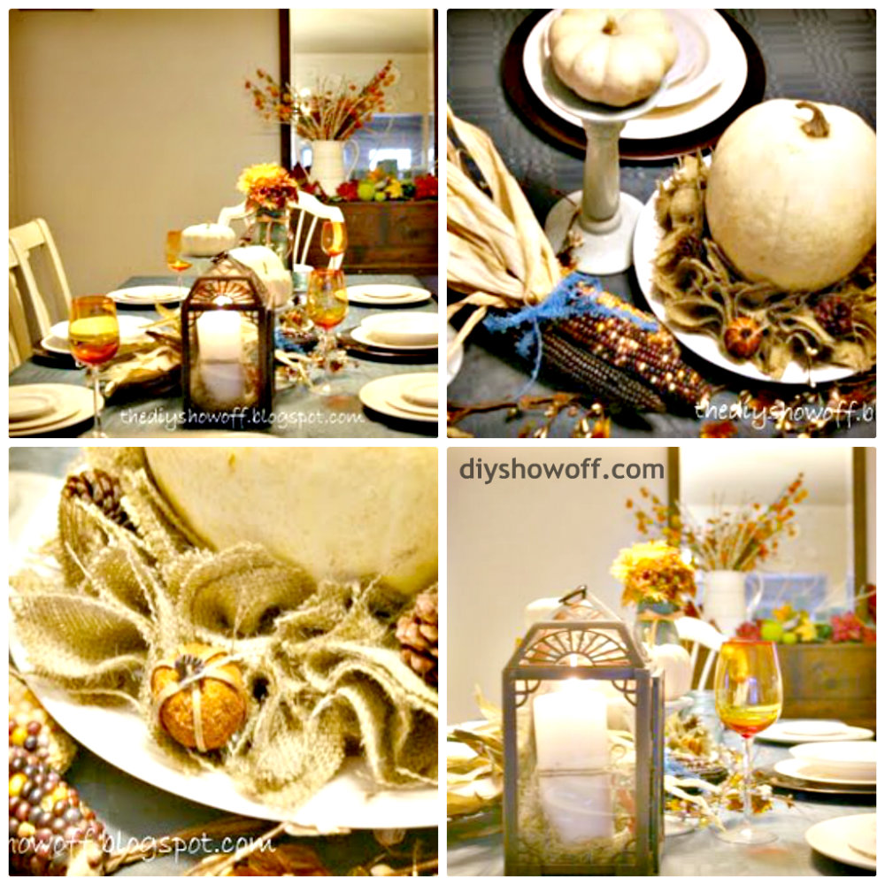 Fall Table Scapes 4 Years Of Fall Tablescapes Diy Show Off Diy Decorating And
