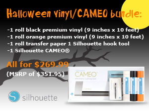 Silhouette Cameo Halloween deal