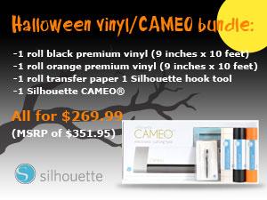 Silhouette Cameo Halloween deal