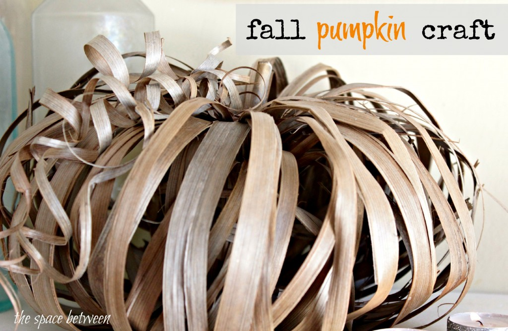 palm leaf pumpkin