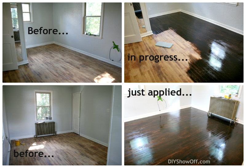 staining hardwood floors diy refinishing maple darker refinish cost