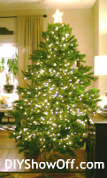 Christmas tree - tips for decorating an artificial tree