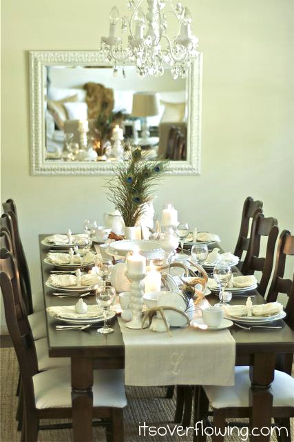 It's Overflowing 2011 Thanksgiving tablescape