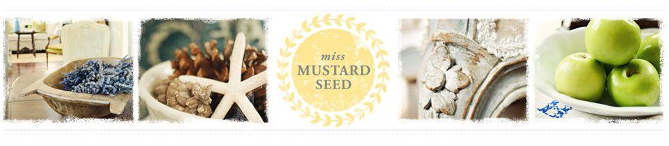 Miss Mustard Seed blog