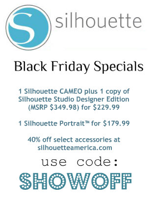DIY SHOWOFF Silhouette Black Friday specials