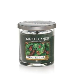 Yankee Balsam and Cedar candle