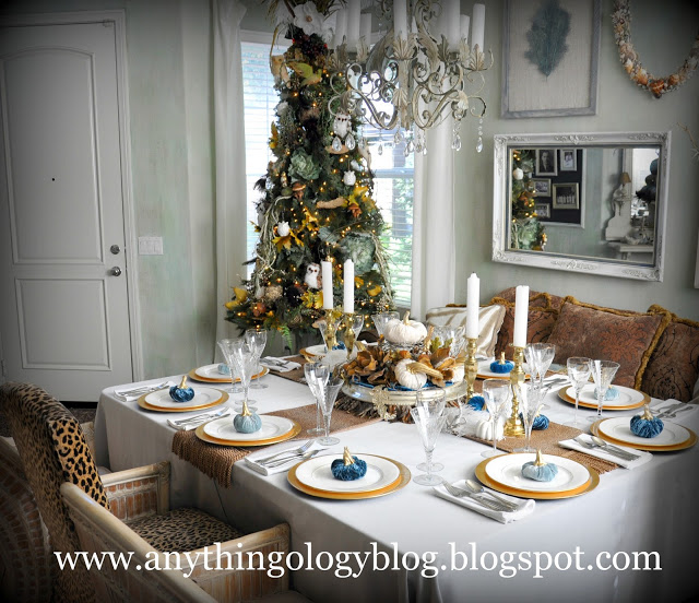 anythingology thanksgiving table 2011