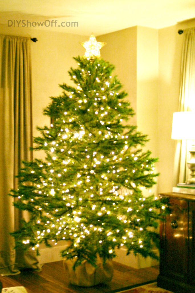 artificial christmas tree decorating tips - Decorated Artificial Christmas Trees