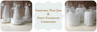 christmas tree jars - Home Made Modern