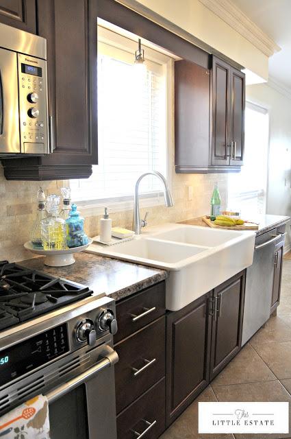kitchen remodel @This Little Estate