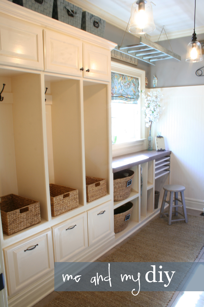 laundry room makeover @Me and My DIY