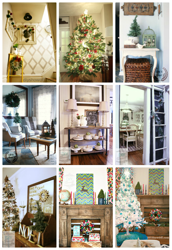 DIY Show Off Christmas Home Tour