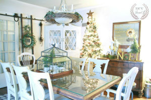 DIYShowOff Christmas farmhouse dining room