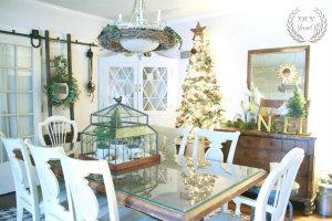 DIYShowOff Christmas farmhouse dining room