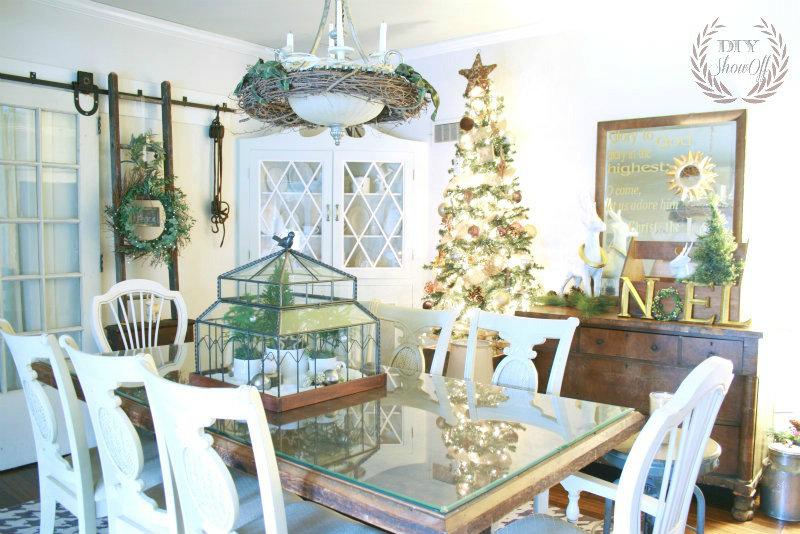 DIYShowOff Christmas dining room