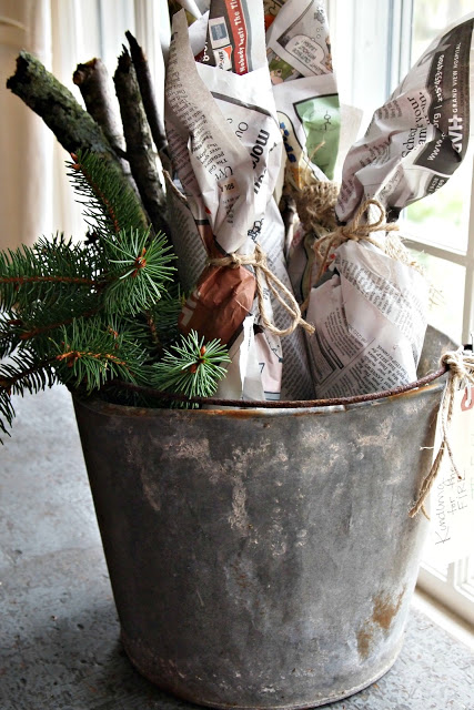 Painted Home DIY Kindling Gift
