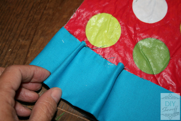 no sew ruffled ombre tree skirt tutorial