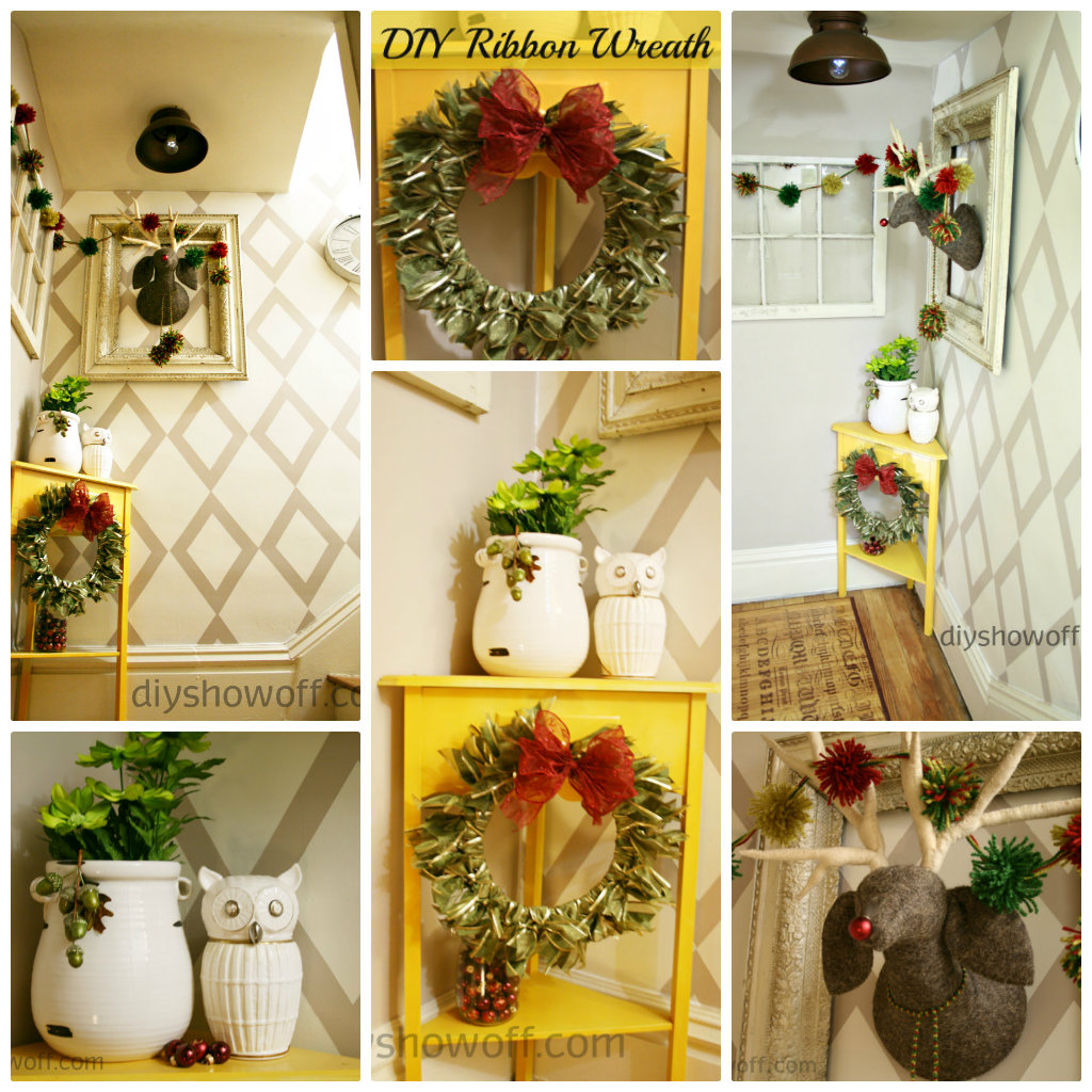 eclectic Christmas decor