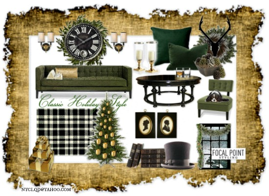holiday mood board