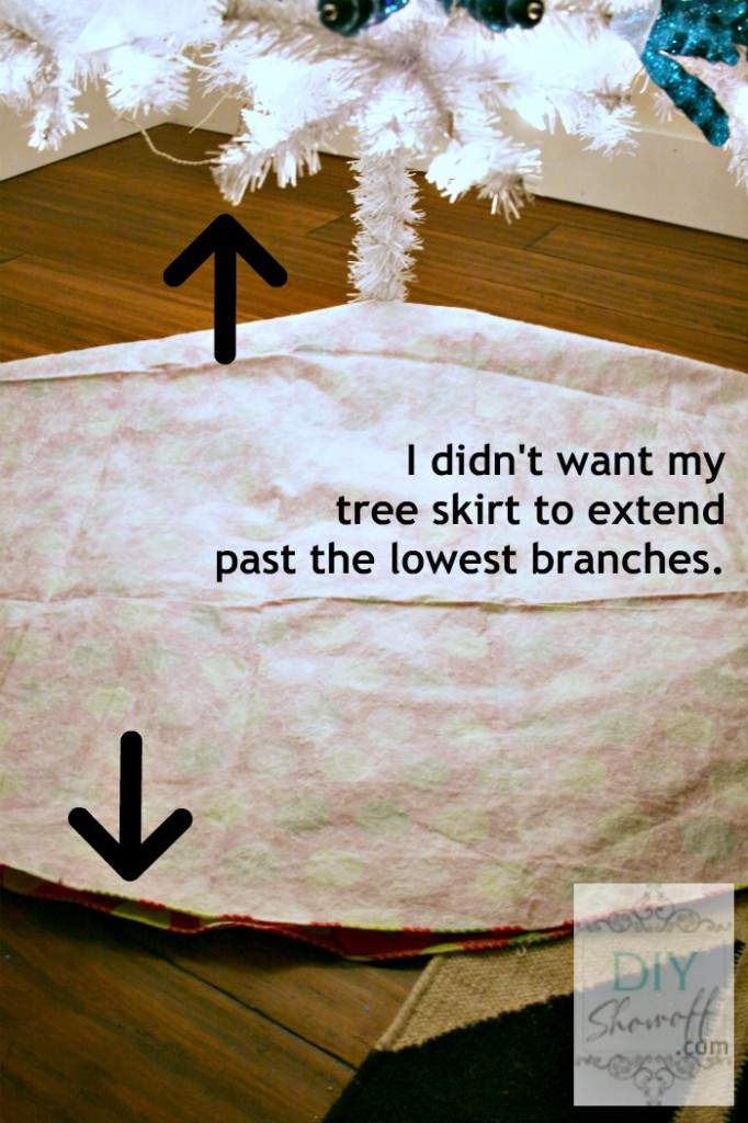 no sew tree skirt