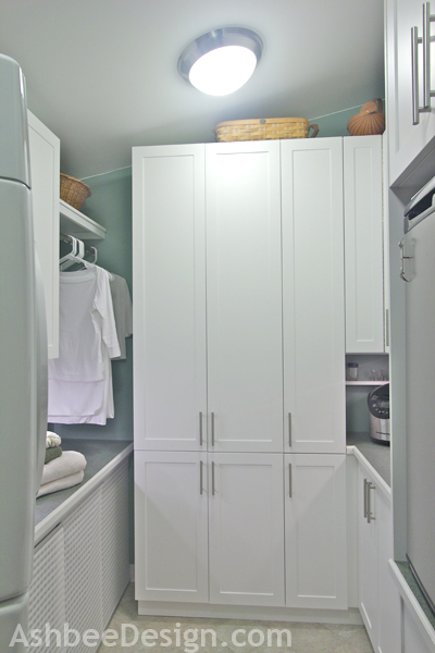 Ashebee Design laundry room makeover