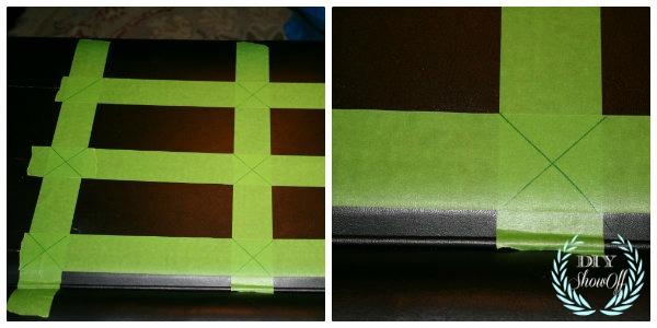 DIY headboard marking for tufts