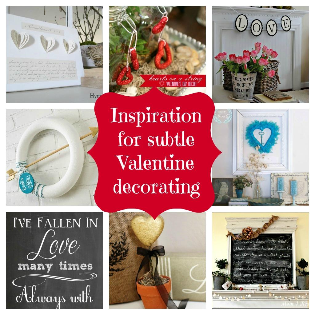 Subtle Valentine Inspiration