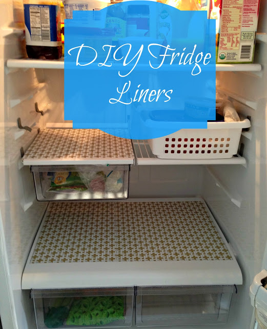 Tarheel Charm DIY fridge liners