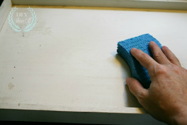 cleaning tray