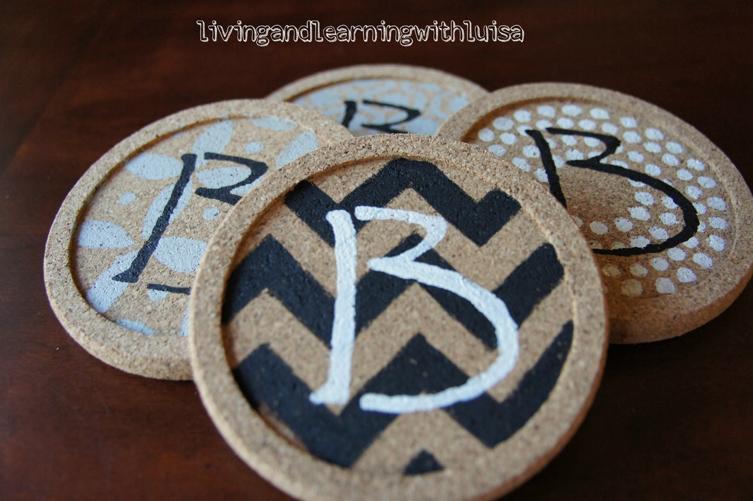 cork coaster DIY