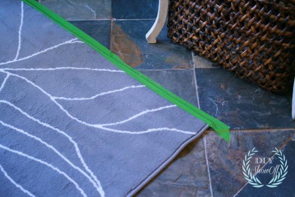 flattening a rug