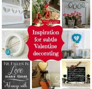 subtle valentine ideas