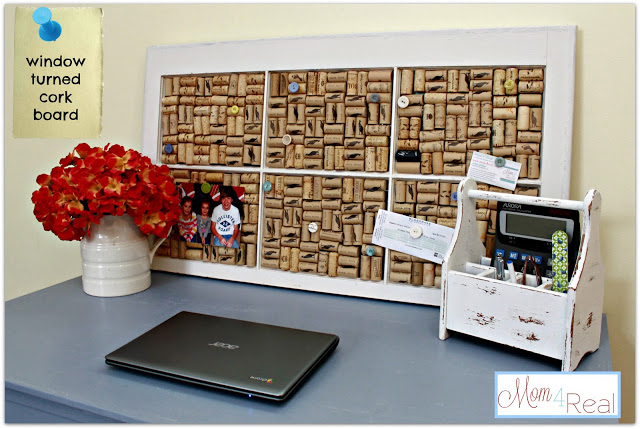window cork board