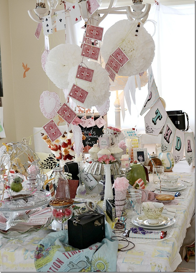 Alice-in-Wonderland-tea-party - Nellie Bellie