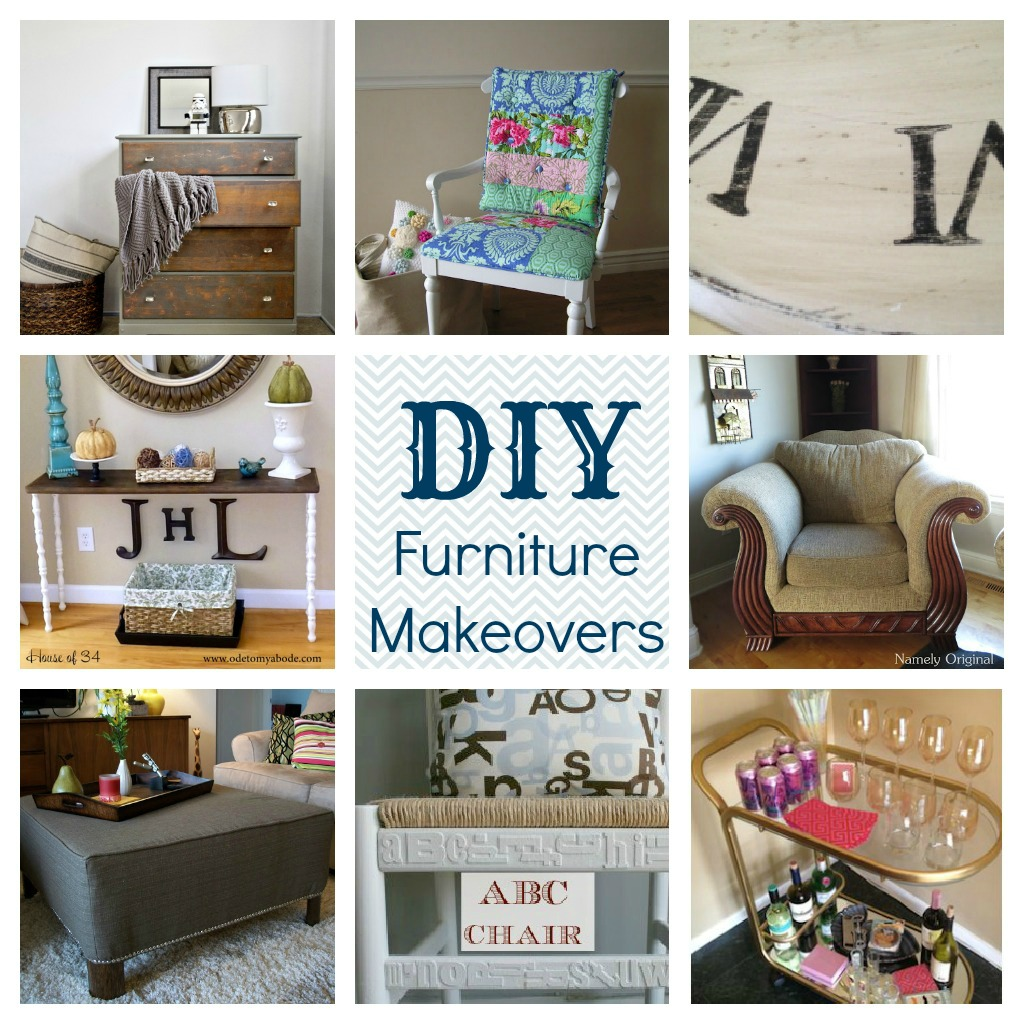Fabulous DIY Furniture Makeovers – before and after