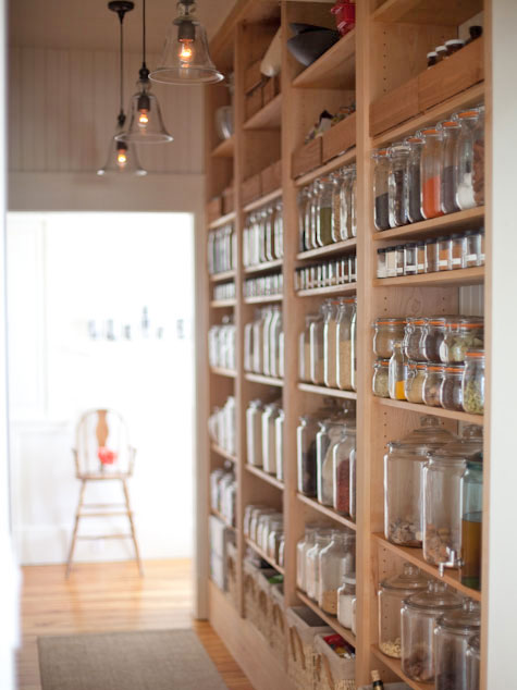 Emerson Made open pantry