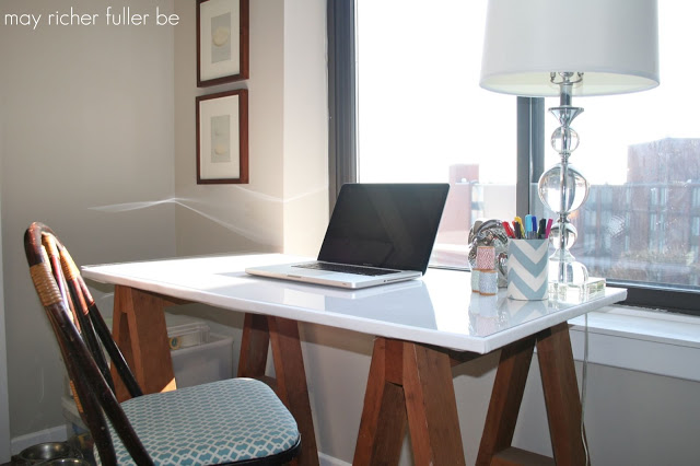 May Richer Fuller Be - upholstered-desk-top