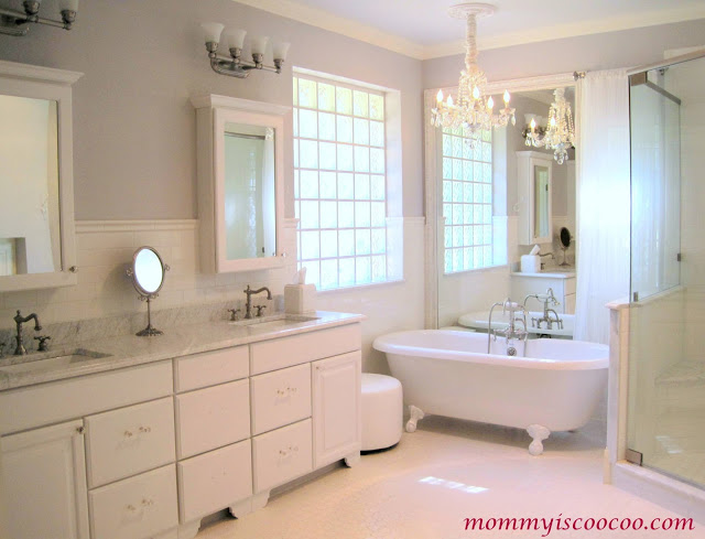 Mommy is Coocoo - bathroom reveal