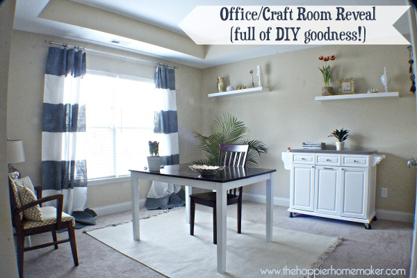 Office-Makeover by the happier homemaker