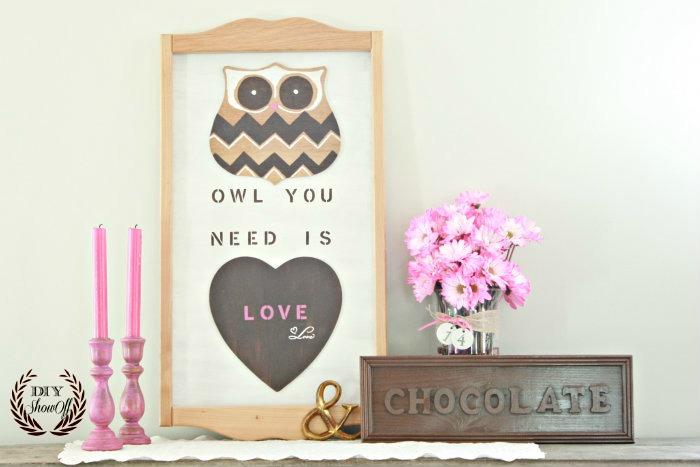 diy-owl-valentine-mantel