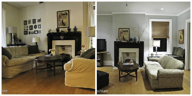 Reposhture living room makeover