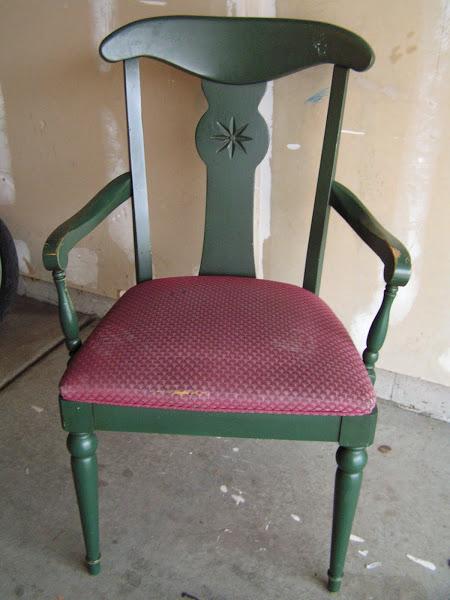 Tea Rose Home - chair-before