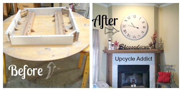 Upcycle Addict-DIY-big-clock