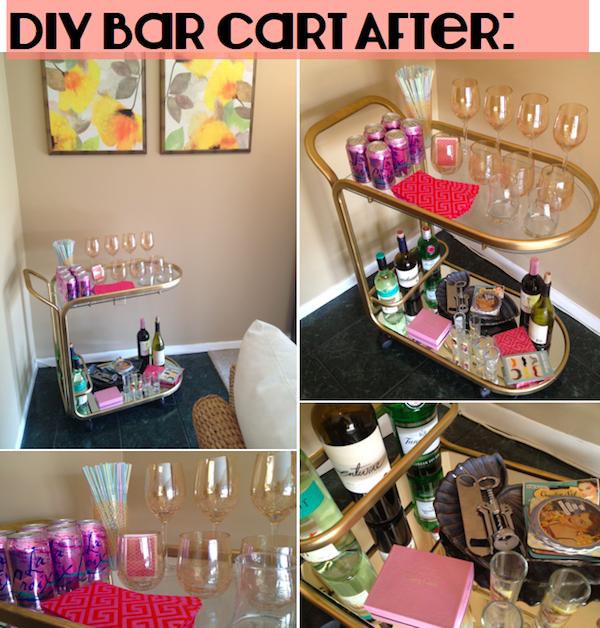 hello boudreau - bar-cart-after
