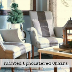 painted upholstered chairs