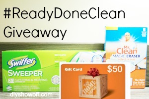 #readydoneclean-giveaway